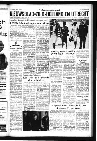 Schoonhovensche Courant 1963-06-12