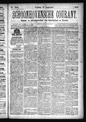 Schoonhovensche Courant 1916-08-18