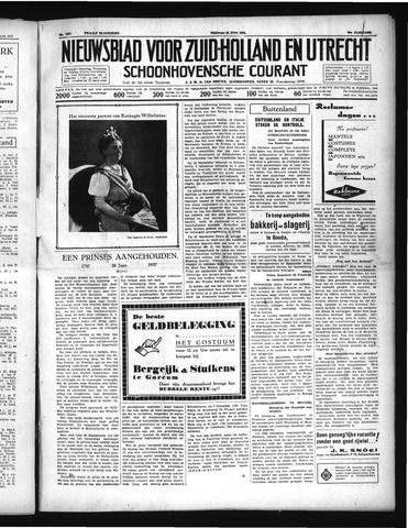 Schoonhovensche Courant 1937-06-25