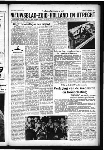 Schoonhovensche Courant 1960-09-21