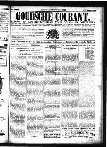 Goudsche Courant 1932-02-20