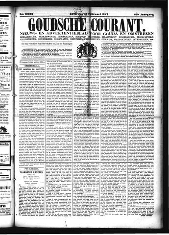 Goudsche Courant 1927-02-12
