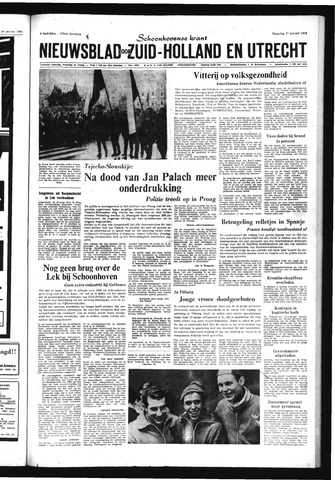 Schoonhovensche Courant 1969-01-27