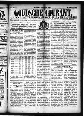 Goudsche Courant 1928-04-28