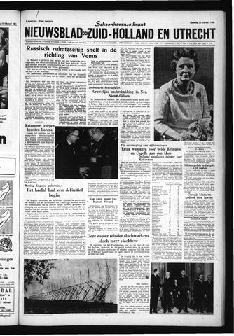 Schoonhovensche Courant 1961-02-13
