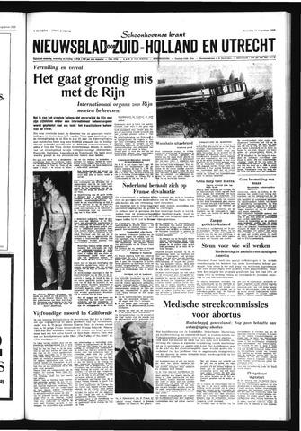 Schoonhovensche Courant 1969-08-11