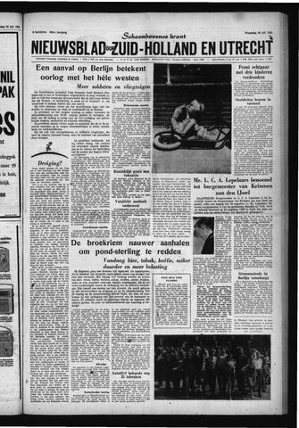 Schoonhovensche Courant 1961-07-26
