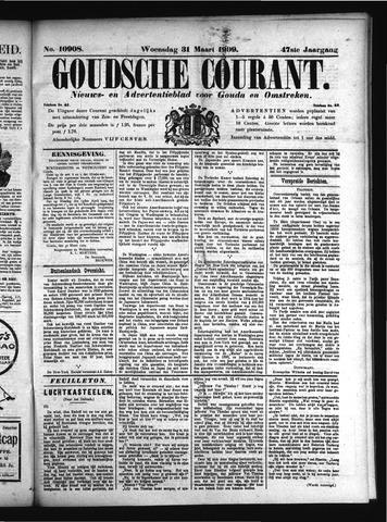 Goudsche Courant 1909-03-31