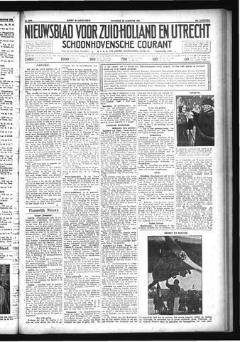 Schoonhovensche Courant 1933-08-28