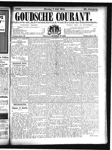 Goudsche Courant 1914-07-07