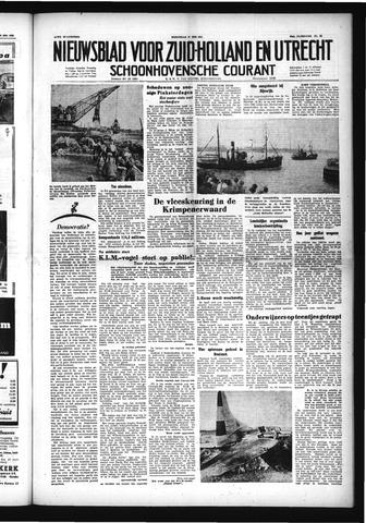 Schoonhovensche Courant 1953-05-27