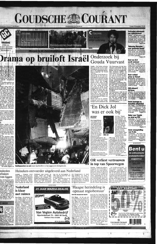 Goudsche Courant 2001-05-25