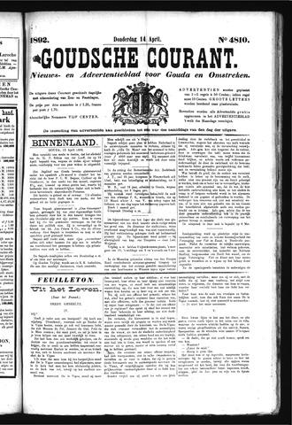 Goudsche Courant 1892-04-14