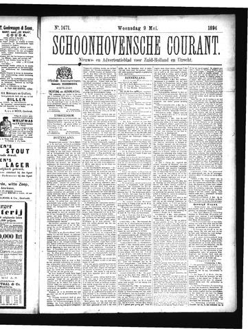 Schoonhovensche Courant 1894-05-09