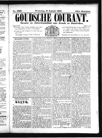 Goudsche Courant 1905-01-18