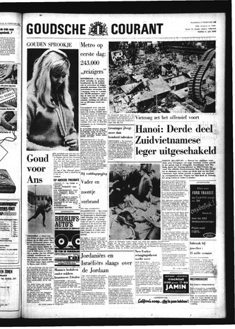 Goudsche Courant 1968-02-12