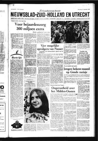 Schoonhovensche Courant 1970-09-30