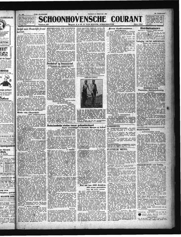Schoonhovensche Courant 1944-02-25