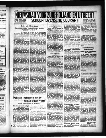 Schoonhovensche Courant 1941-04-16