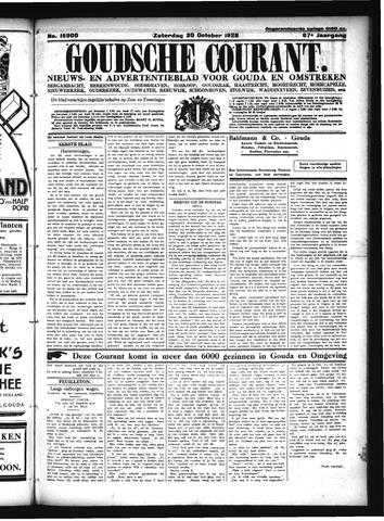 Goudsche Courant 1928-10-20