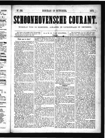 Schoonhovensche Courant 1873-10-19