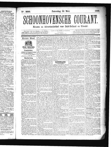 Schoonhovensche Courant 1909-05-22