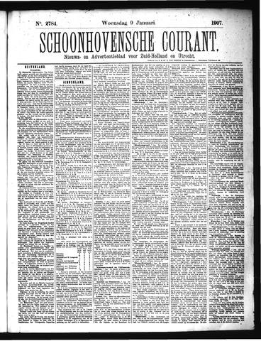 Schoonhovensche Courant 1907-01-09