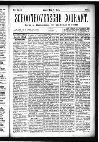 Schoonhovensche Courant 1914-05-02