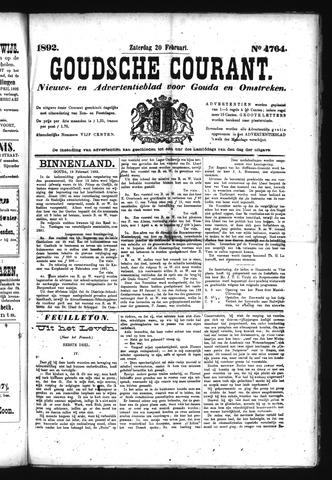 Goudsche Courant 1892-02-20