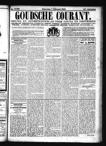 Goudsche Courant 1925-02-07