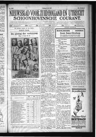 Schoonhovensche Courant 1929-07-05