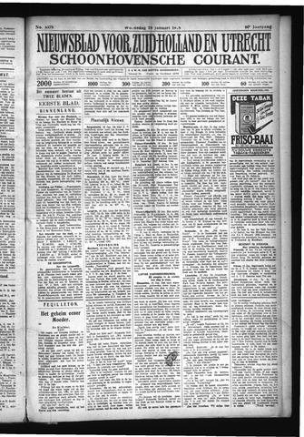 Schoonhovensche Courant 1928-01-18