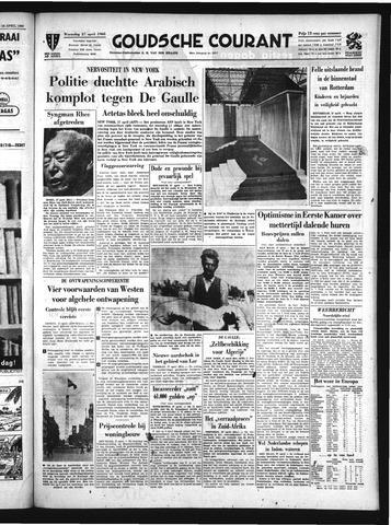 Goudsche Courant 1960-04-27