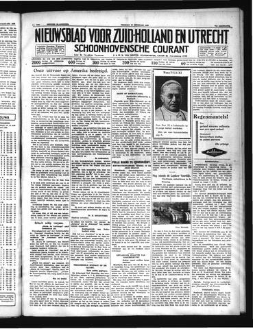 Schoonhovensche Courant 1939-02-10