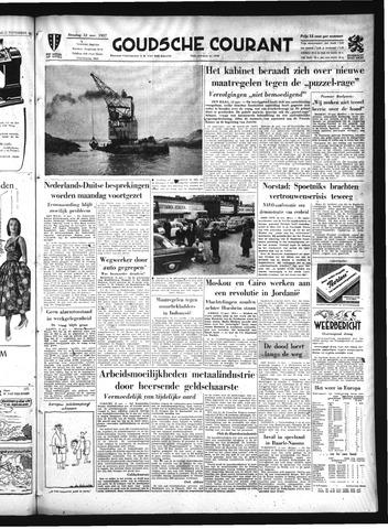 Goudsche Courant 1957-11-12