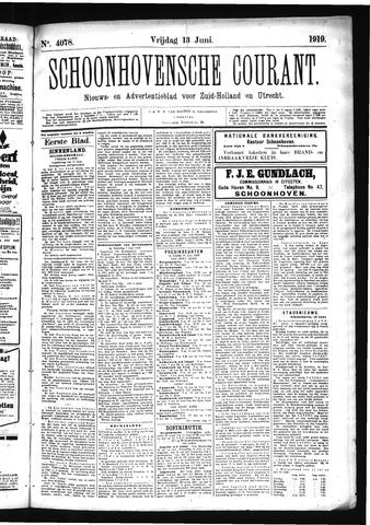 Schoonhovensche Courant 1919-06-13