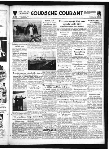 Goudsche Courant 1951-04-03
