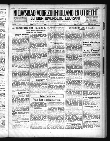 Schoonhovensche Courant 1935-11-13