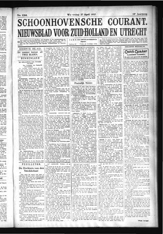 Schoonhovensche Courant 1927-04-27