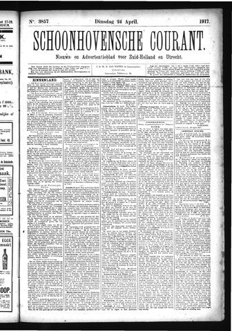 Schoonhovensche Courant 1917-04-24