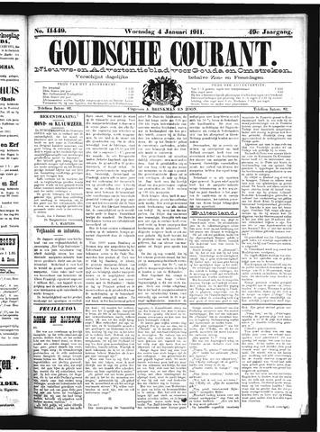 Goudsche Courant 1911-01-04