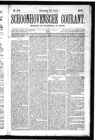Schoonhovensche Courant 1878-07-21