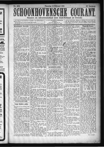Schoonhovensche Courant 1923-02-12