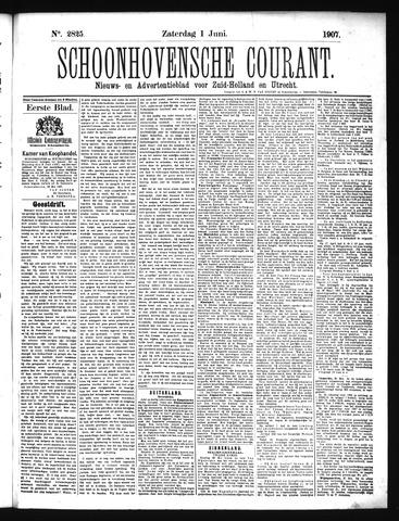 Schoonhovensche Courant 1907-06-01