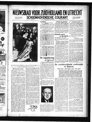 Schoonhovensche Courant 1949-04-15