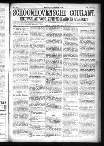 Schoonhovensche Courant 1926-08-20