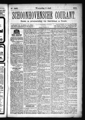 Schoonhovensche Courant 1913-07-09