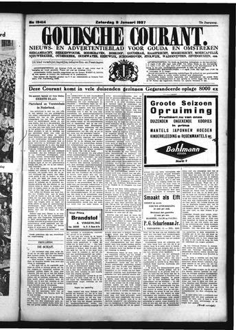 Goudsche Courant 1937-01-09