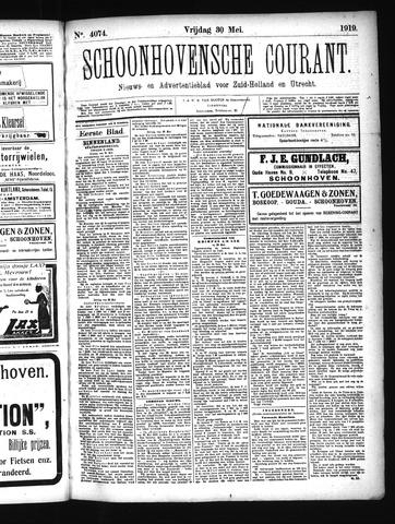 Schoonhovensche Courant 1919-05-30