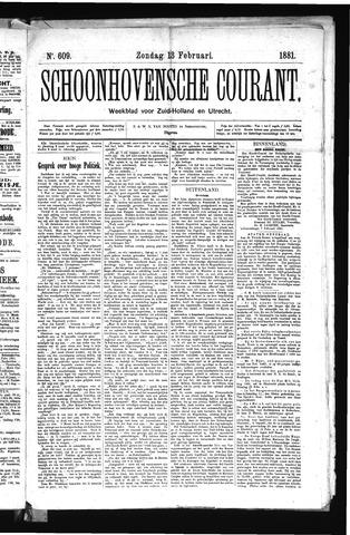 Schoonhovensche Courant 1881-02-13